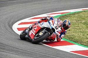 MotoGP Actualités Grosse chute pour Petrucci au test de Barcelone