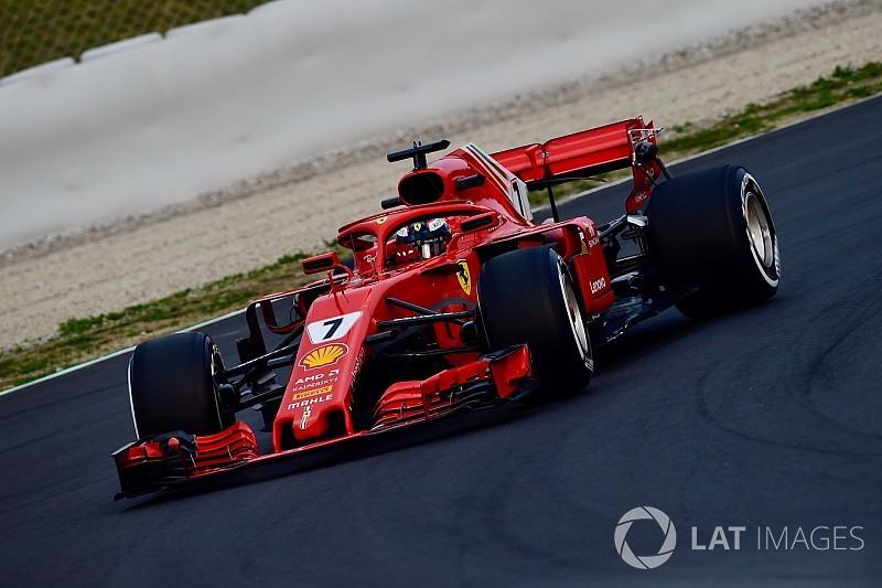 Berita F1 Foto Mobil Ferrari Sf71h Di Tes Formula 1 Barcelona