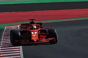 Formula 1 Testing report Vettel stays top amid more McLaren problems