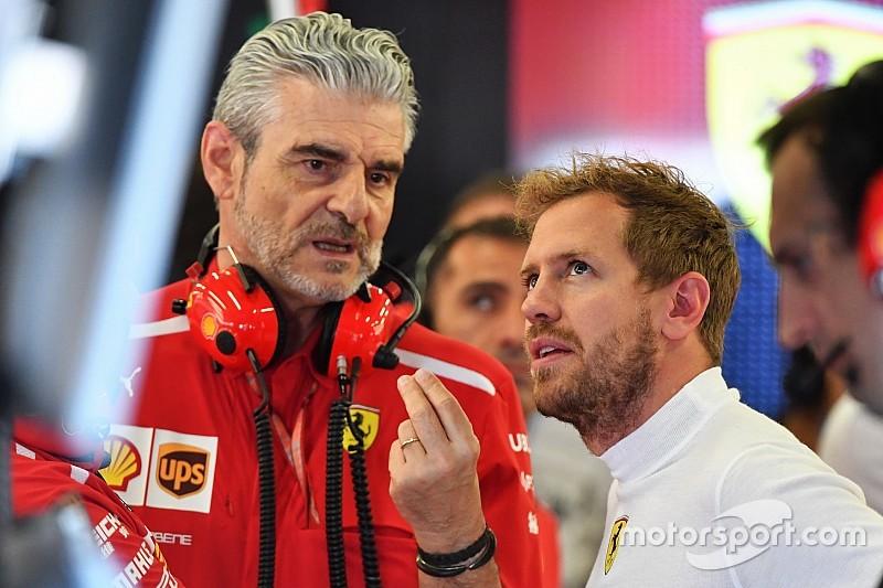 Аррівабене: Себастьян Феттель не є керівником Ferrari