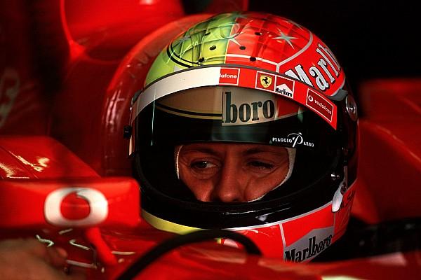 Galería: todos los cascos de Michael Schumacher en Fórmula 1