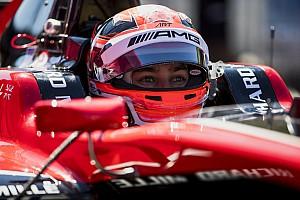 GP3 Nieuws Mercedes F1-junior Russell snelst op eerste GP3-testdag