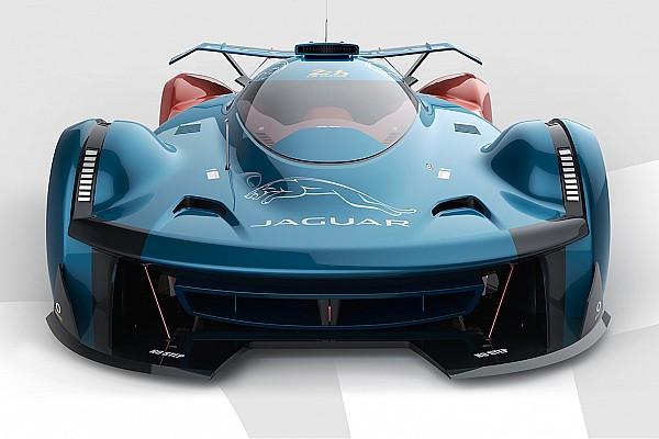 Automotive Fantasy Le Mans Jaguar render imagines XJ220 of the future