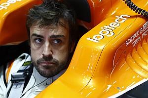Forma-1 Jelentés a szabadedzésről Alonso: