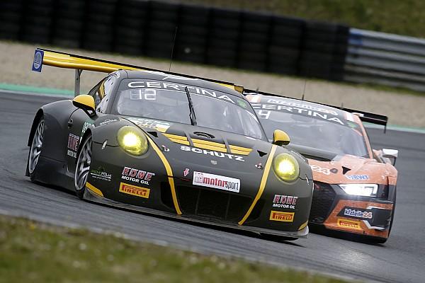 GT-Masters Trainingsbericht Audi und Porsche sind vorn beim GT-Masters-Auftakt in Oschersleben