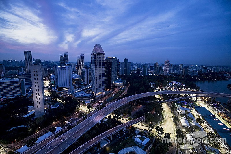 2 méterrel rövidebb lesz egy kör Szingapúrban