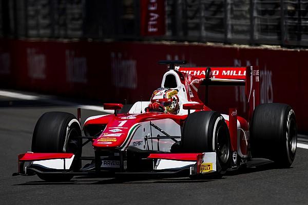 Formule 2 Baku: Leclerc pakt vierde pole-position op rij, De Vries op P4
