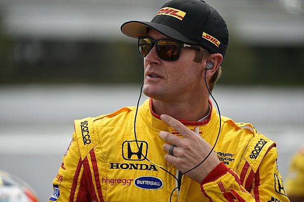 Vídeo: Hunter-Reay corre en IndyCar tras sufrir un accidente de 139G