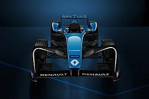Formel E News Formel E 2017/2018: Renault e.dams zeigt neue Lackierung