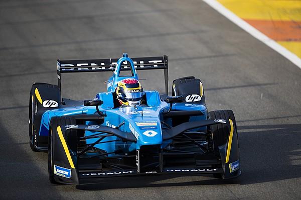 Valencia Formula E test: Buemi sweeps second day