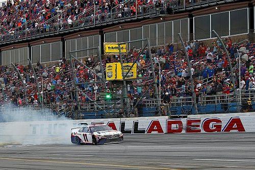 NASCAR explains Talladega penalties, defends yellow line rule