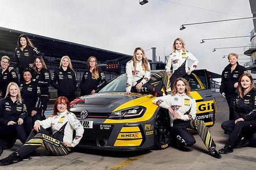 "The ""black gold"" behind an all-female Nurburgring 24 Hours team"