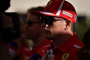 Räikkönen a hegyekben a kis családjával