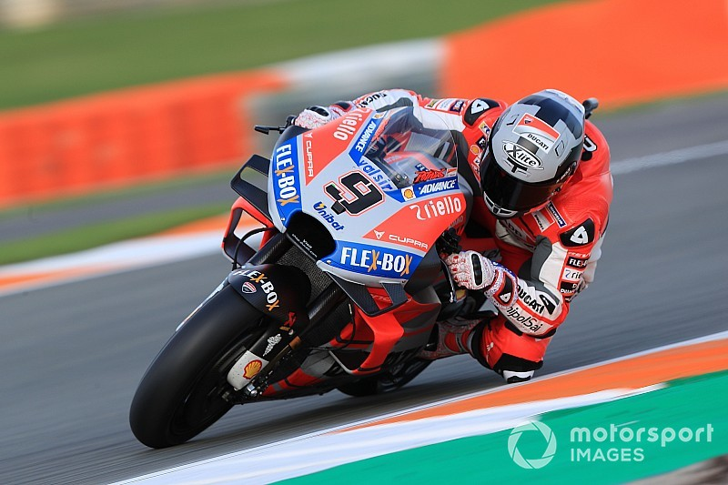 Petrucci lidera 1-2 da Ducati no primeiro dia de testes em Jerez