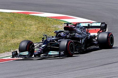 葡萄牙大奖赛FP2:汉密尔顿登上榜首,阿隆索第五
