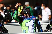 Galeri Foto: Momen Juara Dunia Moto2 Enea Bastianini
