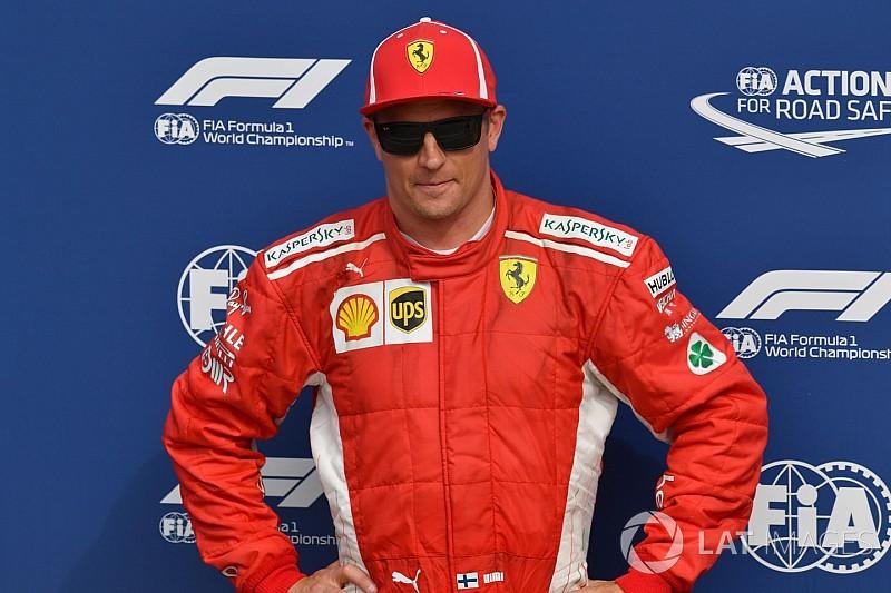 Az év jelenete: Räikkönennel közlik, hogy övé a pole -