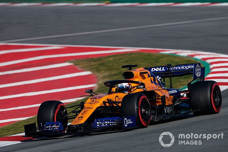 Sainz quickest as crash curtails Ferrari's day