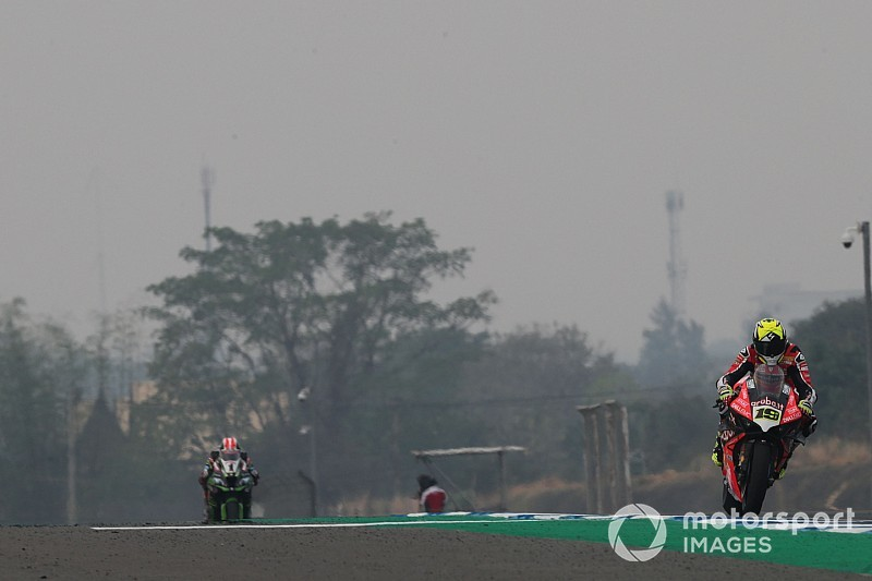 Buriram WSBK: Bautista completes second hat-trick of wins