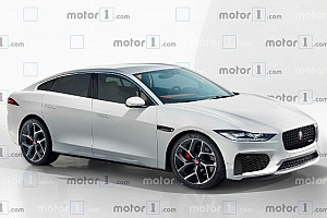 Render Jaguar XJ 2020, la nueva berlina de superlujo