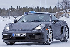 Six-cylinder Porsche 718 Boxster caught in freezing weather?