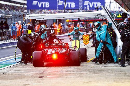 تحليل: قرار مرسيدس الذي منح هاميلتون فوزه الـ 100 في الفورمولا واحد