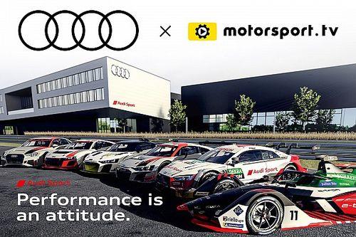 Audi Sport lanza un canal dedicado con Motorsport.tv
