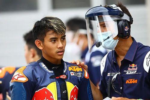 Mario Suryo Aji Masuk Daftar Pembalap Red Bull Rookies Cup 2021