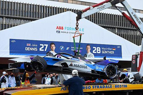 Vídeo: accidentado inicio del ePrix de Roma I