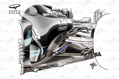 How Mercedes is trying to claw back its lost downforce