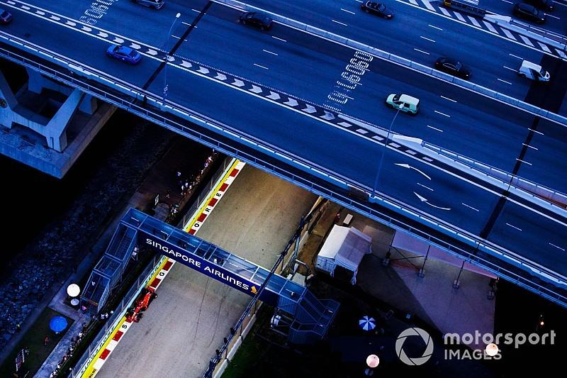 GALERÍA: las mejores imágenes aéreas en Singapur