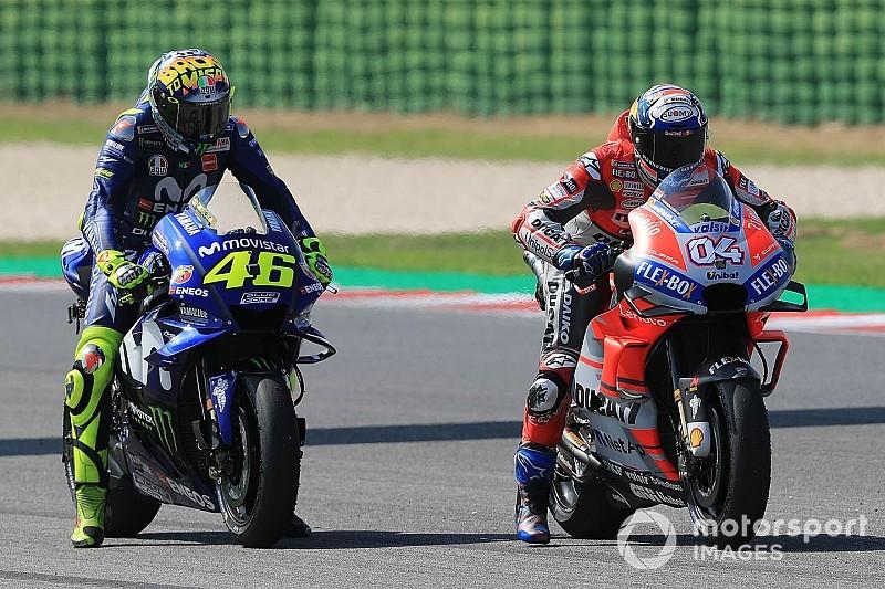 Stand MotoGP-kampioenschap 2018: Rossi verliest tweede plek in San Marino