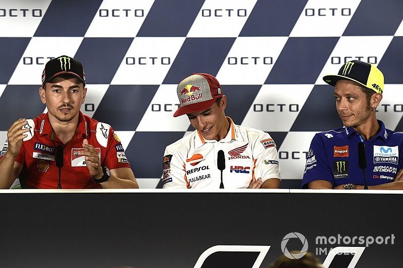 "Lorenzo: ""Rossi se comporta como un niño pequeño pero Márquez debería pasar de él"""