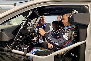 Hyundai: ecco Loeb che fa il suo esordio sulla i20 WRC a 48 ore dal termine della Dakar 2019!