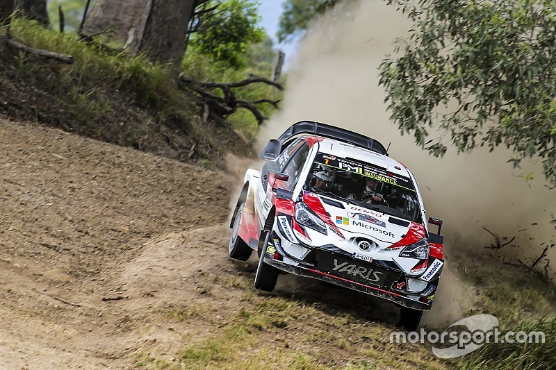 Australia WRC: Latvala reclaims lead as Tanak slips up