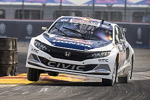 Global Rallycross Race report A very close win for Sebastian Eriksson at GRC Louisville
