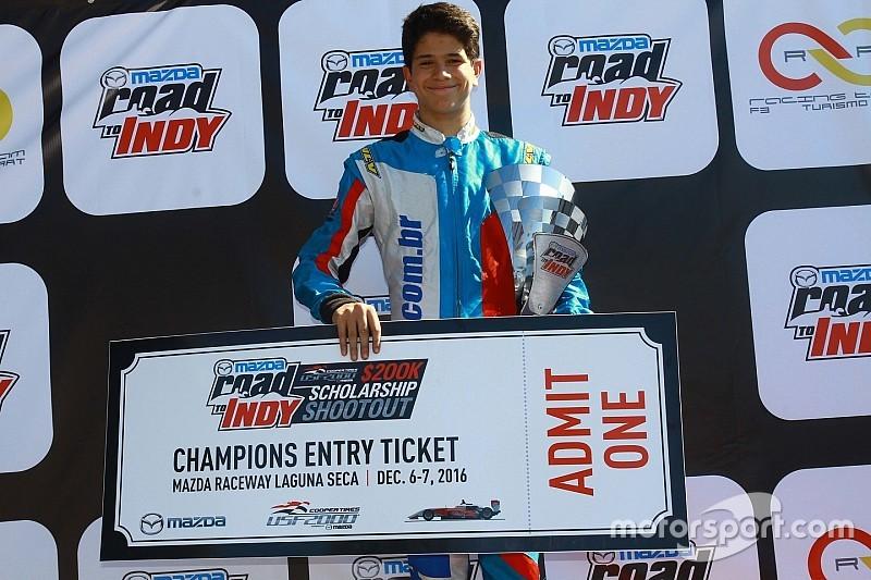 Marcel Coletta vence Mazda Road to Indy Brasil em Interlagos
