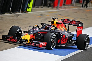 Formula 1 Breaking news Red Bull tries out Halo at Silverstone test