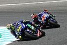 Rossi-Vinales beda pendapat soal sasis baru Yamaha