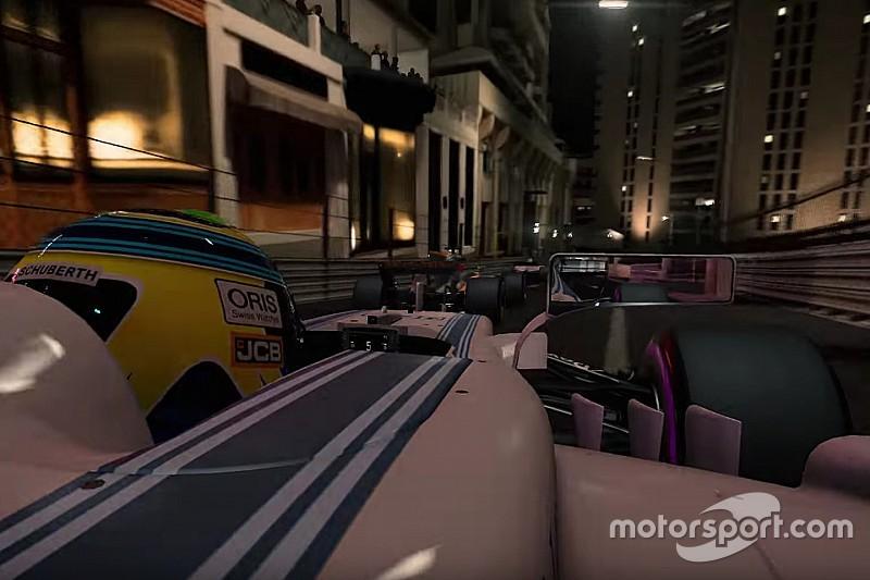Trailer terbaru F1 2017 tampilkan Monako saat malam