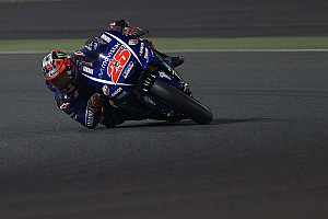 MotoGP Testbericht MotoGP-Test Katar 2017 – Tag 3: Maverick Vinales bleibt das Maß der Dinge – Marquez mit 3 Stürzen