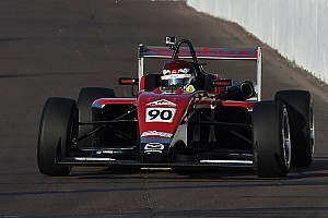 USF2000 Qualifying report Toronto USF2000: Canadian rising star Thompson takes pole