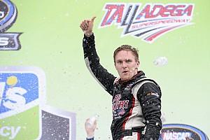 NASCAR Truck Race report Parker Kligerman takes upset win in chaotic Talladega Truck race