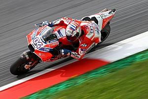 MotoGP Practice report Austria MotoGP: Dovizioso beats Marquez in warm-up