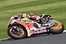Márquez domina la primera práctica en Misano