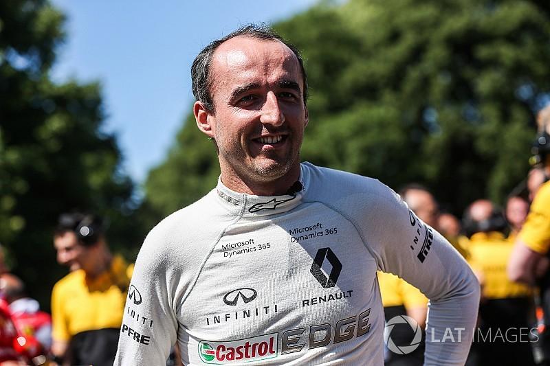 Renault: Kubica'nın dönüşü için açık bir engel yok