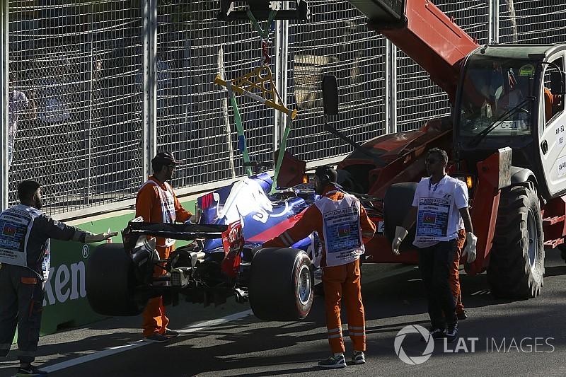 Пригнічений Квят закликав Toro Rosso розібратися з надійністю