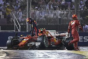 F1 速報ニュース ベッテルを責めるフェルスタッペン親子「彼はペナルティを受けるべき」