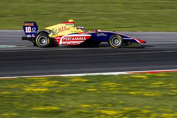 GP3 Отчет о гонке Сын Алези впервые в карьере поднялся на подиум в GP3