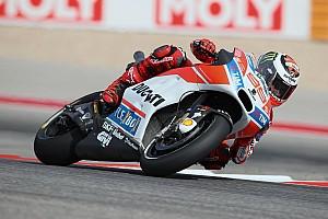 """MotoGP Noticias Lorenzo: """"Ha ido bien, estoy más cerca de las otras Ducati"""""""